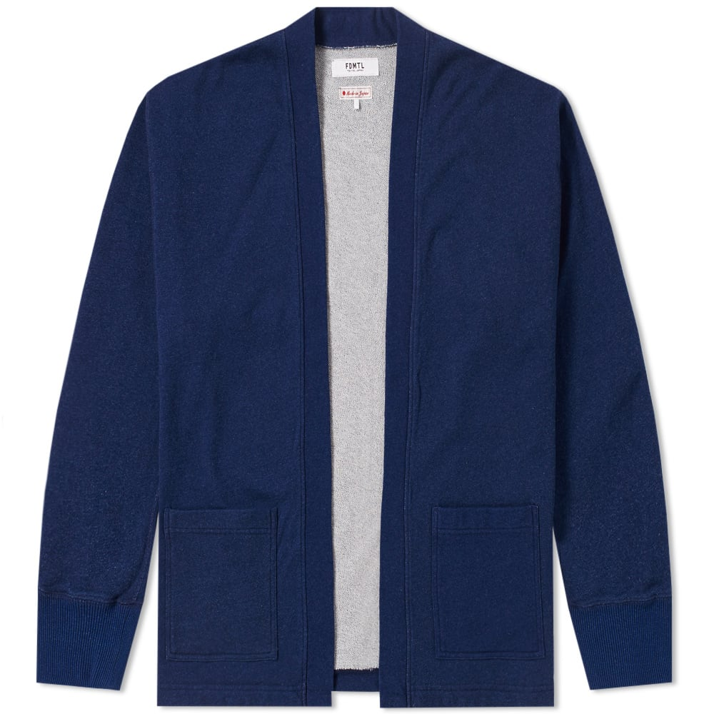 Photo: FDMTL Indigo Cardigan