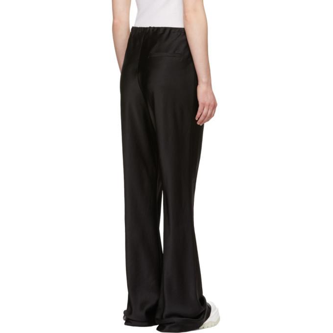 alexanderwang.t Black Wash and Go Lounge Pants
