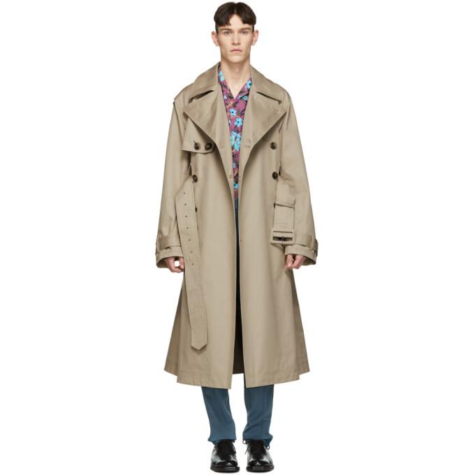 Photo: Valentino Beige Oversized Trench Coat