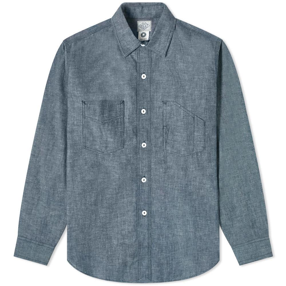 Photo: Post Overalls Chambray Shirt