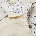 KAPITAL - Printed Patchwork Cotton Jacket - White