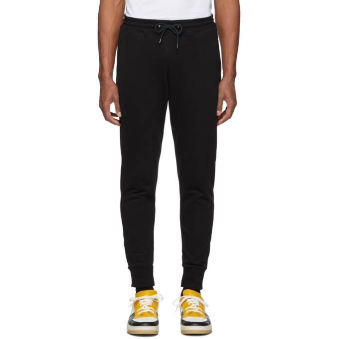Photo: PS by Paul Smith Black Regular Fit Lounge Pants