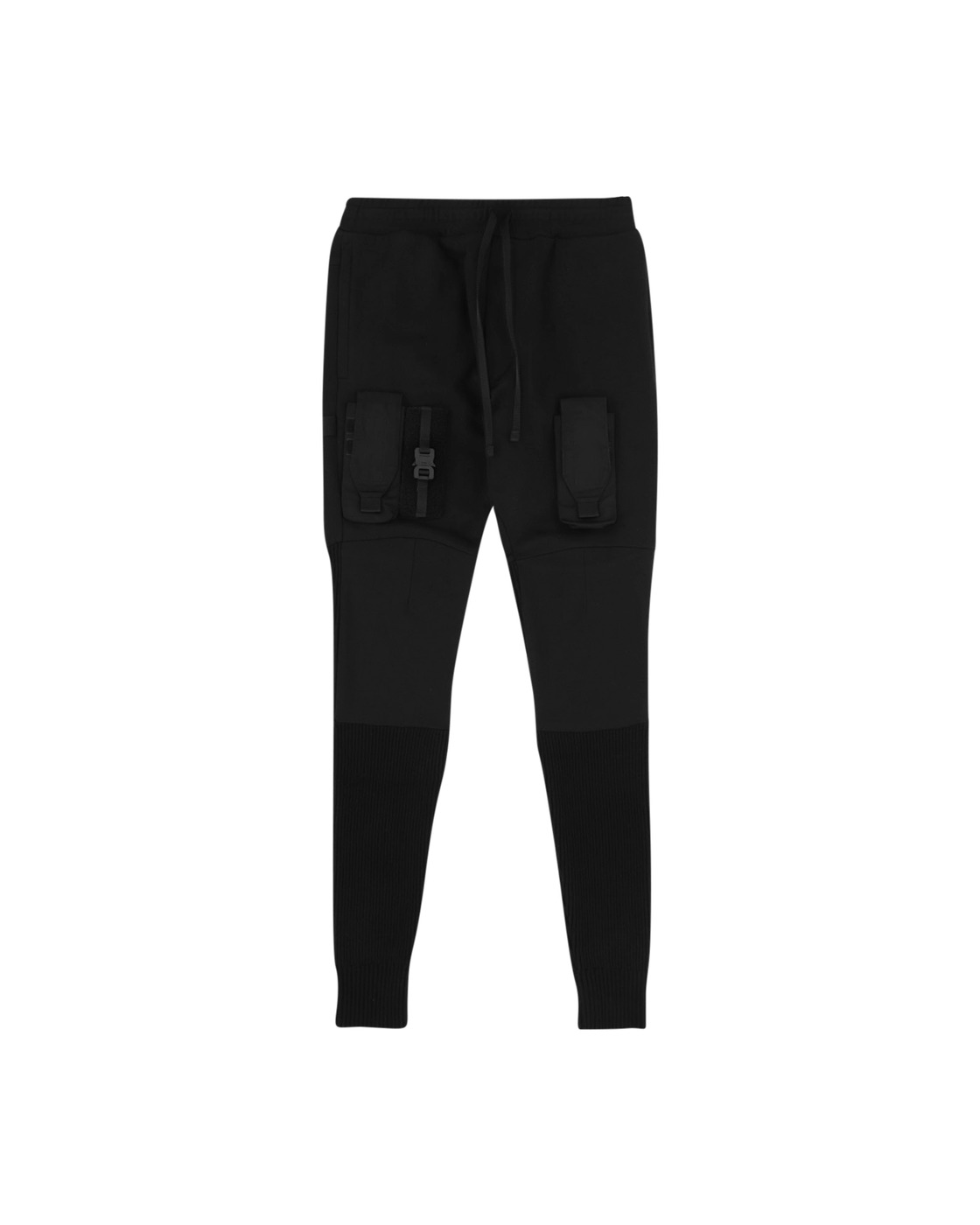 Photo: 1017 Alyx 9sm Ribbed Sweatpants Black