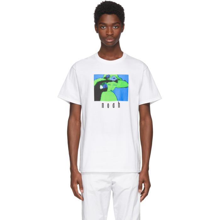 Photo: Noah NYC White Like My Hat T-Shirt