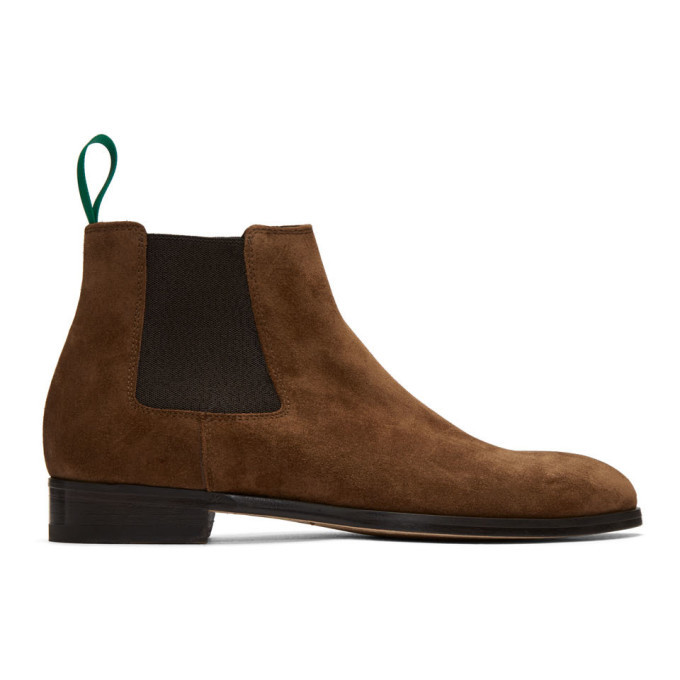 Photo: Paul Smith Brown Crown Chelsea Boots