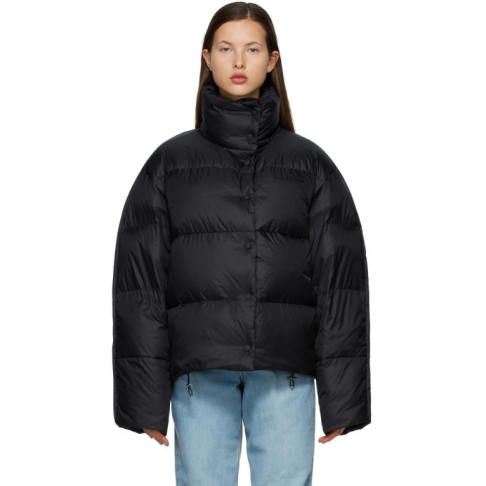 Photo: Acne Studios Black Down Quilted Jacket
