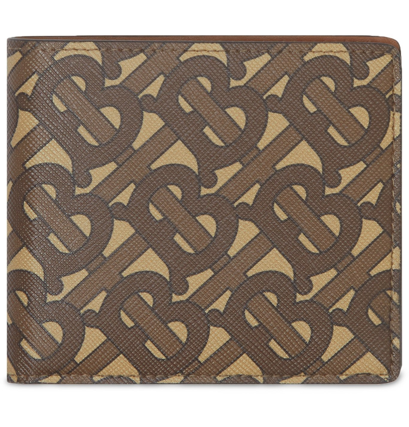 Photo: Burberry - Logo-Print Coated-Canvas Billfold Wallet - Brown