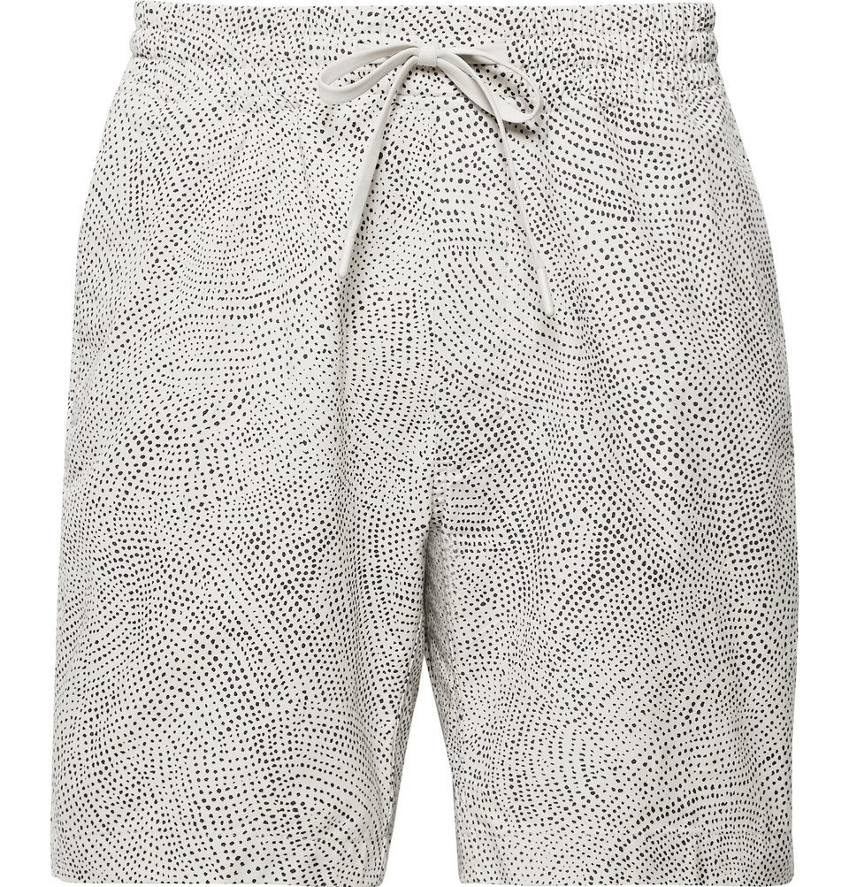 Photo: Lululemon - Bowline Printed Stretch Organic Cotton-Blend Shorts - Beige