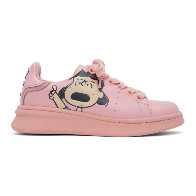 Photo: Marc Jacobs Pink Peanuts Edition The Tennis Shoe Sneakers