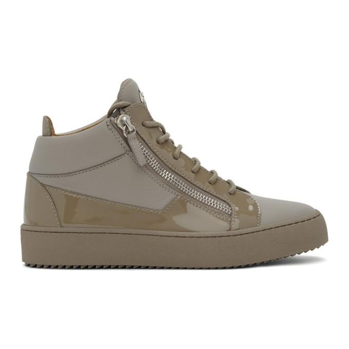 Photo: Giuseppe Zanotti Grey Birel Vague May London Sneakers