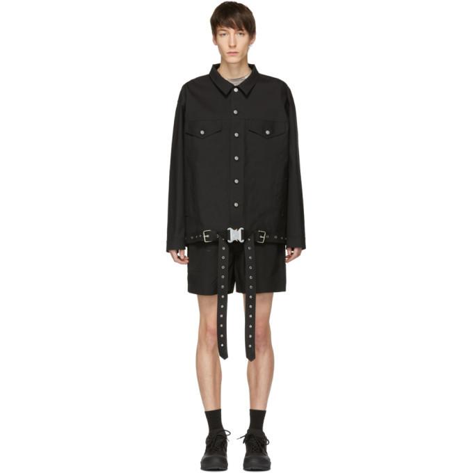 Photo: 1017 Alyx 9SM Black Mackintosh Edition Oversized Jacket
