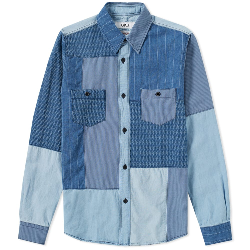 Photo: FDMTL Boro Patchwork Shirt