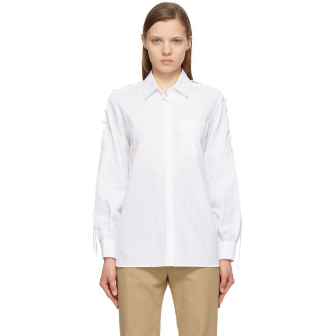 Max Mara White Osteo Shirt
