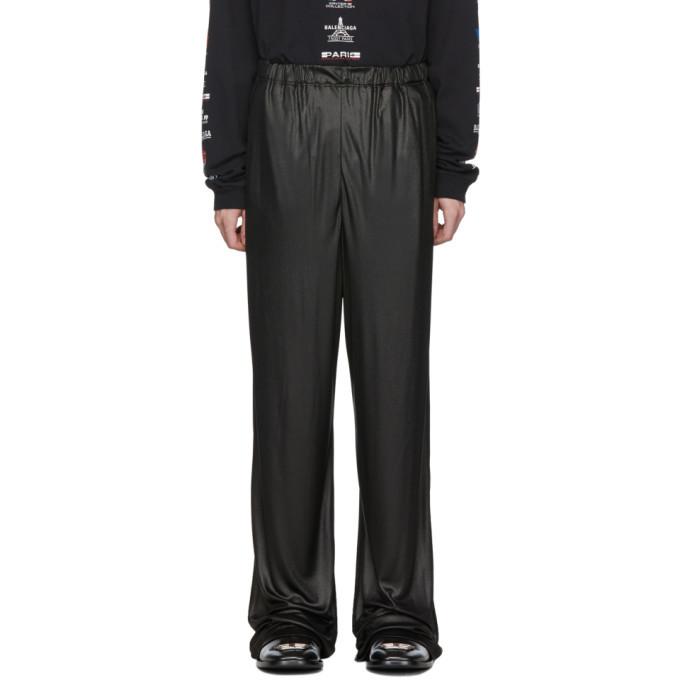 Photo: Balenciaga Black Oversized Trousers