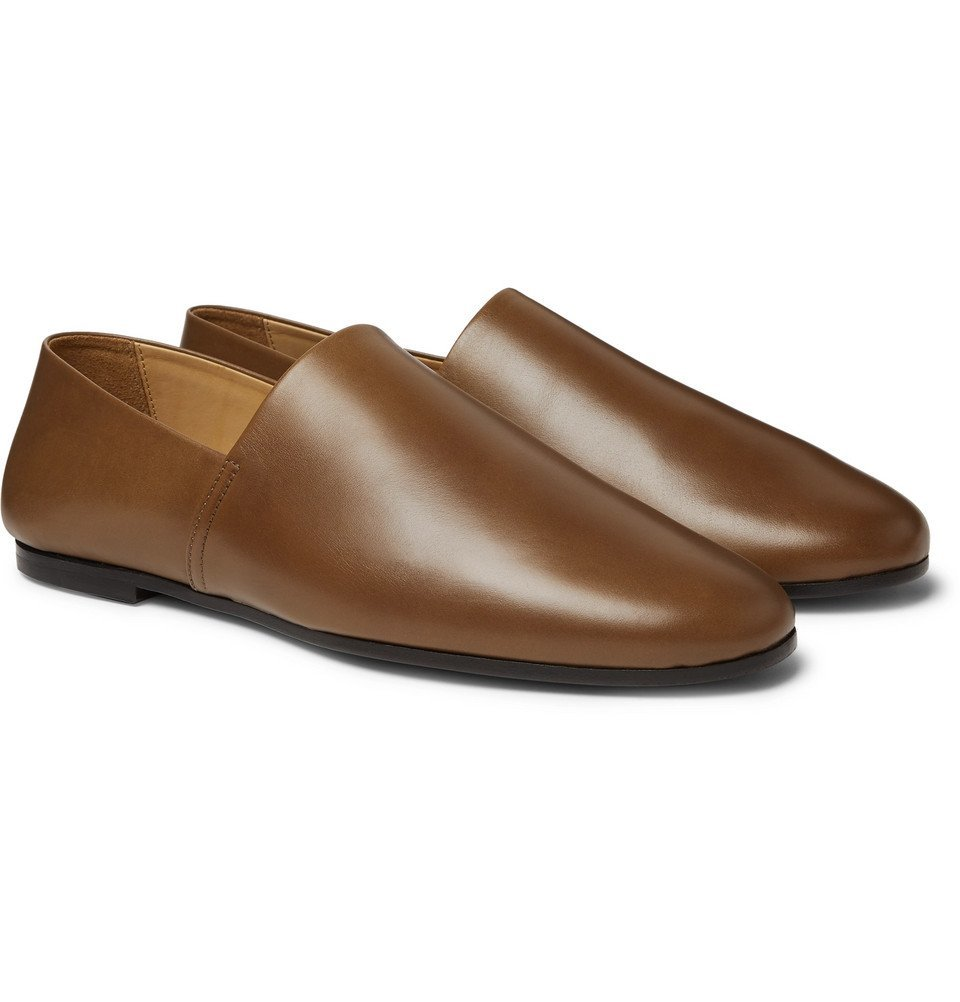 Photo: Sandro - Leather Loafers - Brown