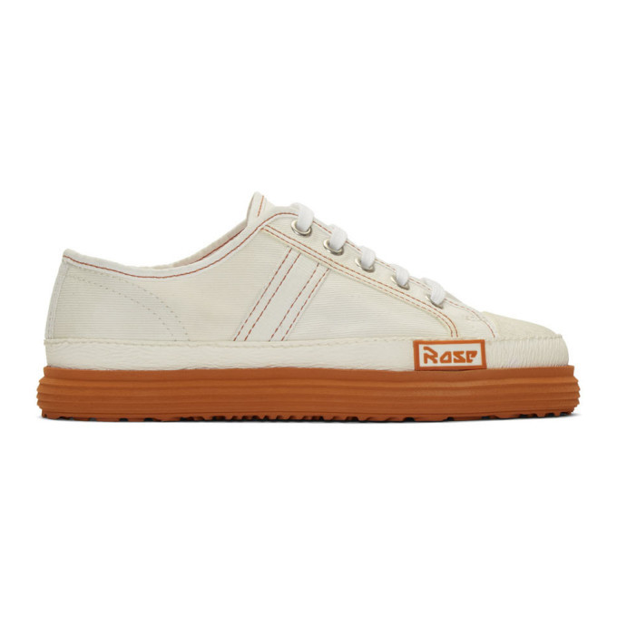 Photo: Martine Rose Off-White Low Basketball Sneakers