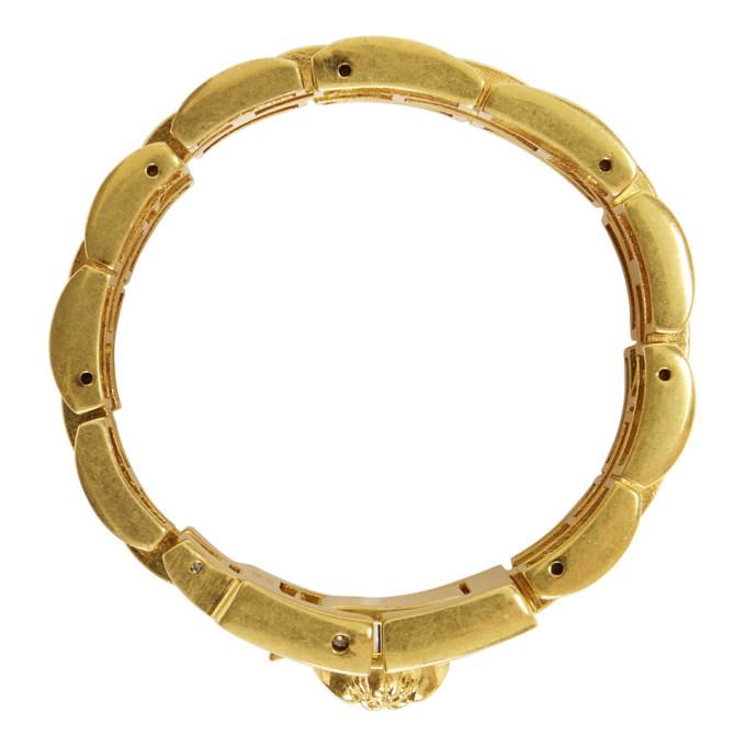 Versace Gold Watchlink Bracelet