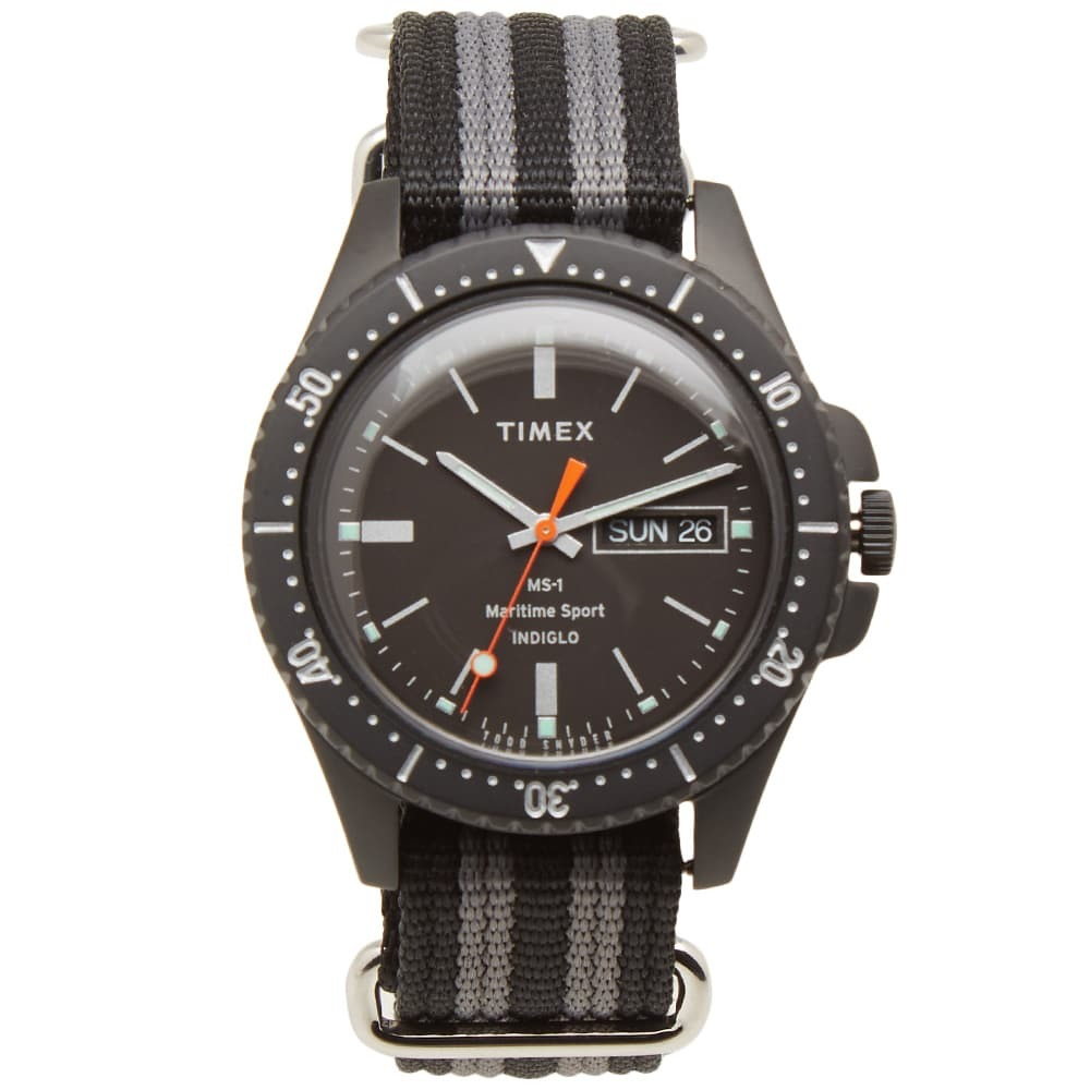 Photo: Timex x Todd Snyder Maritime Sport MS-1 Watch
