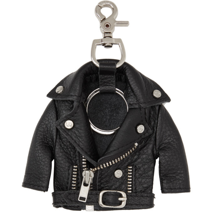 Photo: Stolen Girlfriends Club Black Leather Jacket Keychain