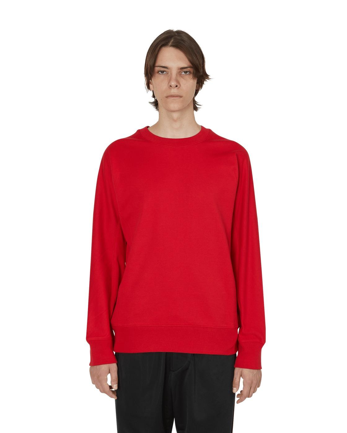 Photo: Y 3 Classic Crewneck Sweatshirt Yohji Red