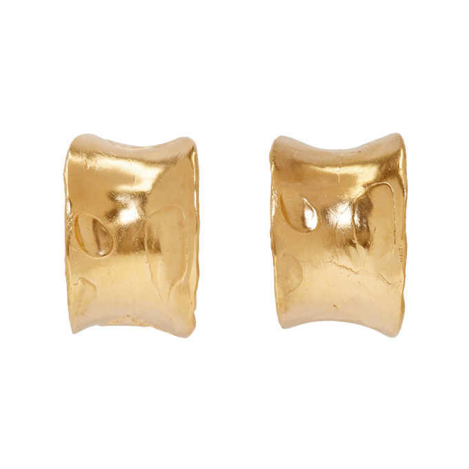 Alighieri Gold The Jokers Game Earrings