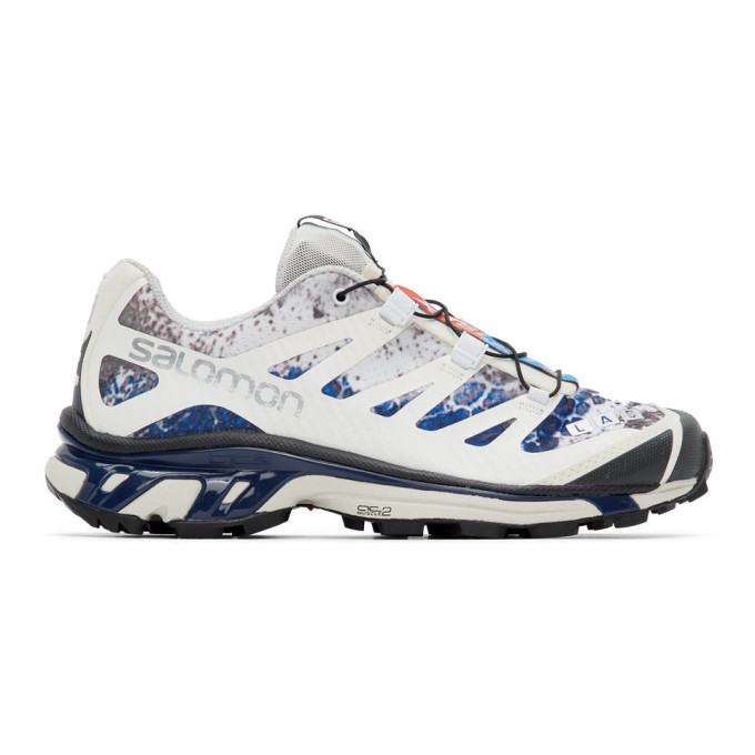 Photo: Salomon White and Blue Limited Edition XT-4 ADV Sneakers