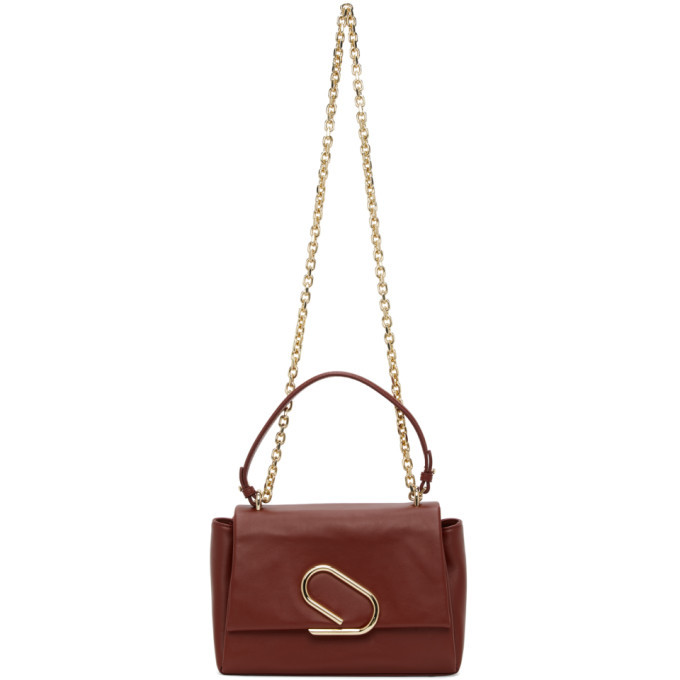 Photo: 3.1 Phillip Lim Burgundy Alix Soft Chain Bag