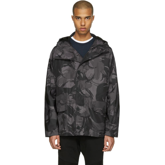 Photo: Belstaff Grey Sophnet Edition Camo Jacket
