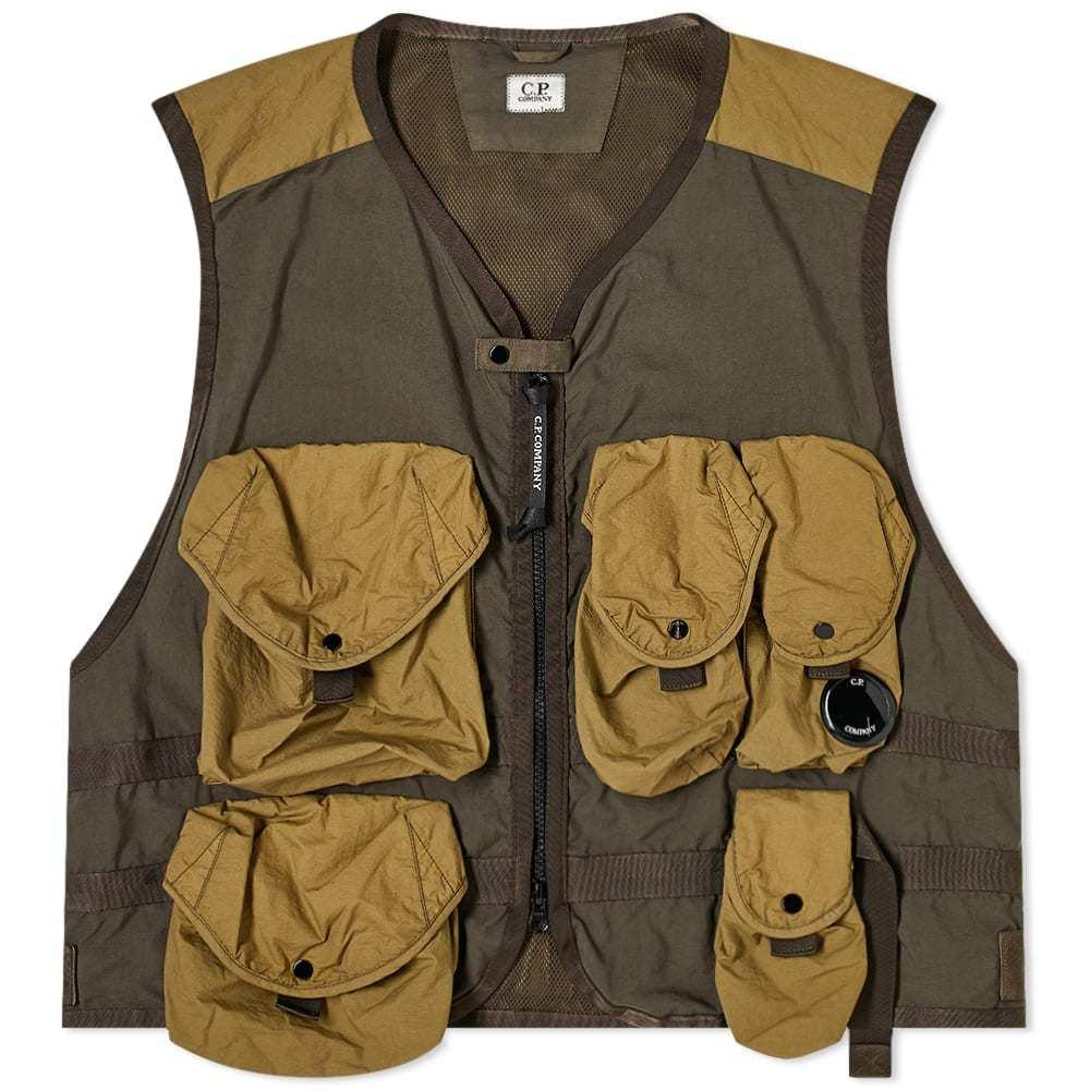 Photo: C.P. Company Multi Pocket Vest