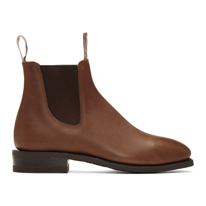 Photo: R.M. Williams Brown Comfort Craftsman Chelsea Boots