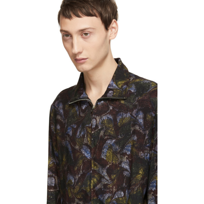 Lemaire Multicolor Zippered Shirt