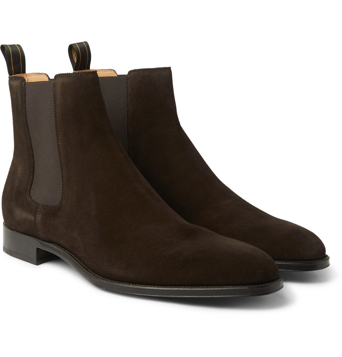 Photo: Dunhill - Kensington Suede Chelsea Boots - Brown