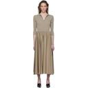 Max Mara Taupe Fred Polo Dress