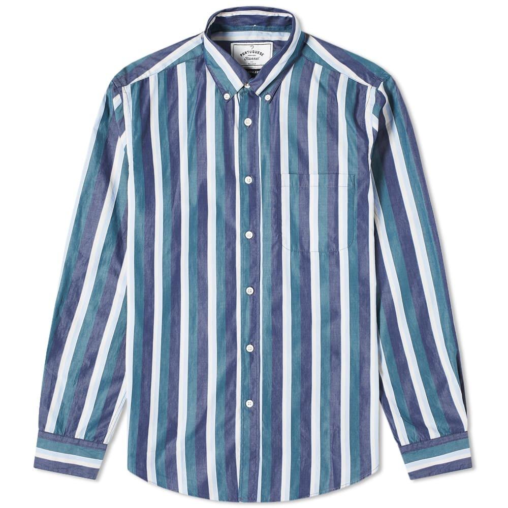 Photo: Portuguese Flannel Marseille Button Down Shirt