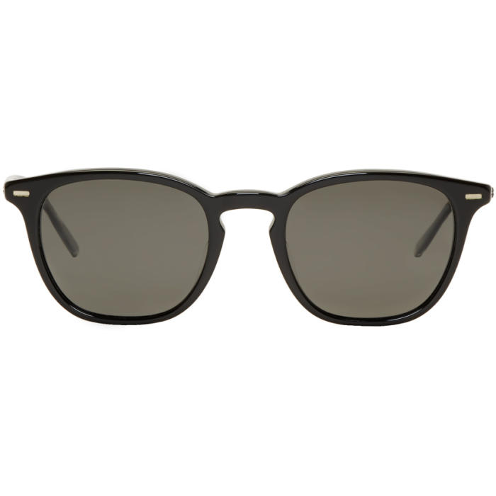 Oliver Peoples Black Heaton Sunglasses
