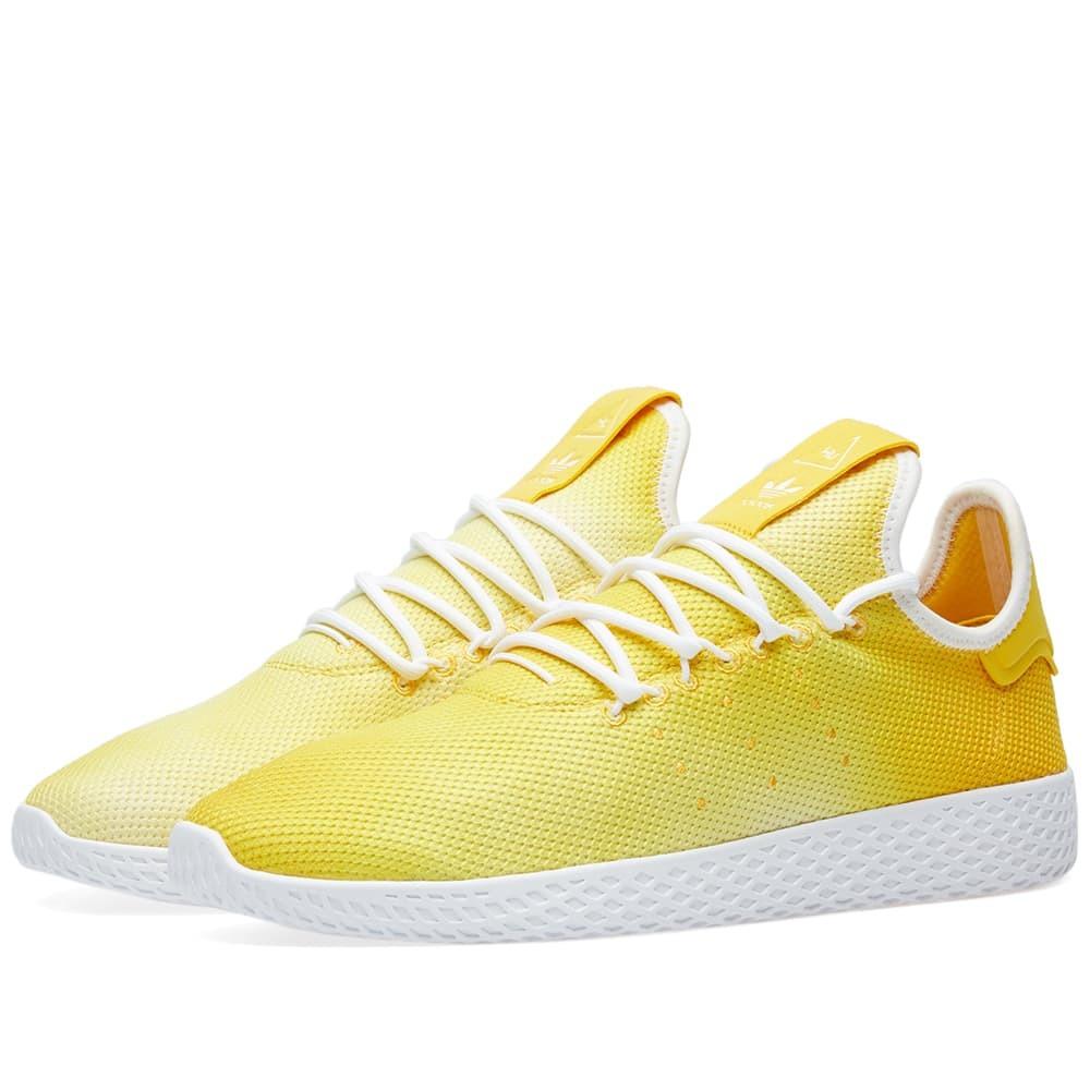 Photo: Adidas x Pharrell Williams Hu Holi Tennis Yellow
