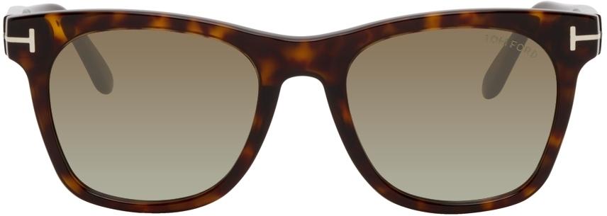 Photo: TOM FORD Tortoiseshell Brooklyn Sunglasses