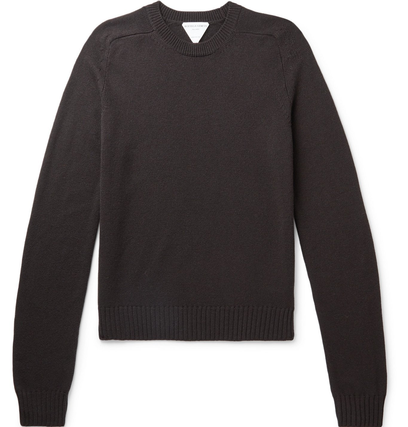 Photo: Bottega Veneta - Wool Sweater - Brown