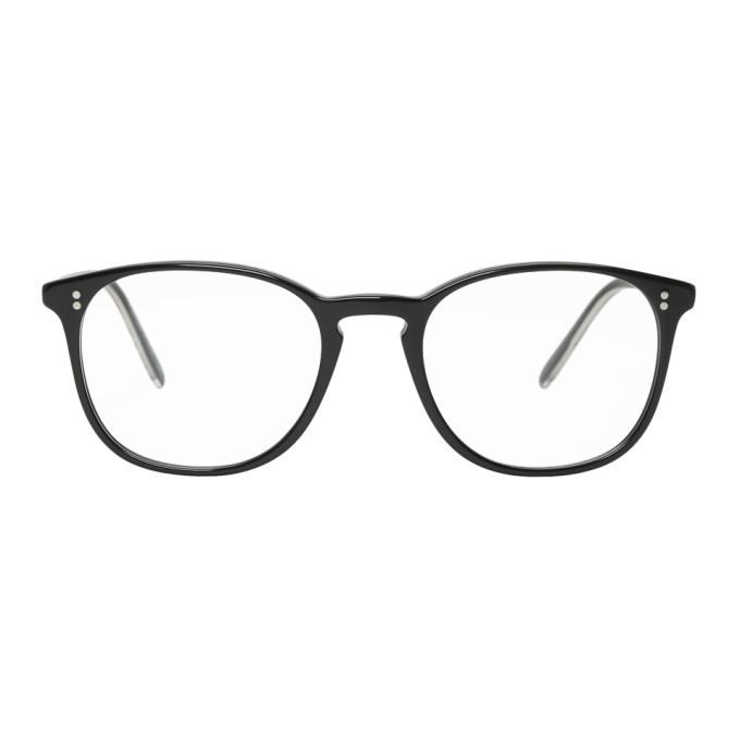 Photo: Oliver Peoples Black Finley Glasses