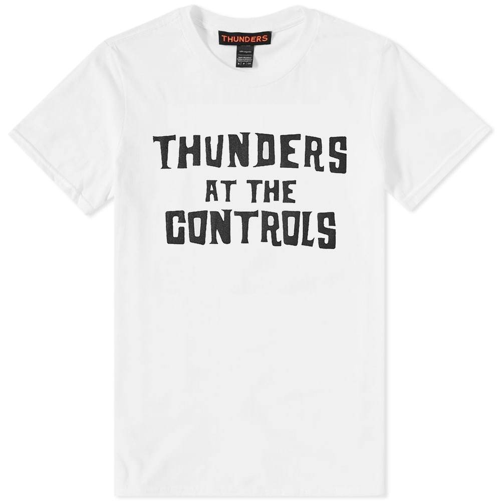 Photo: Thunders Dred @ The Controls Tee White
