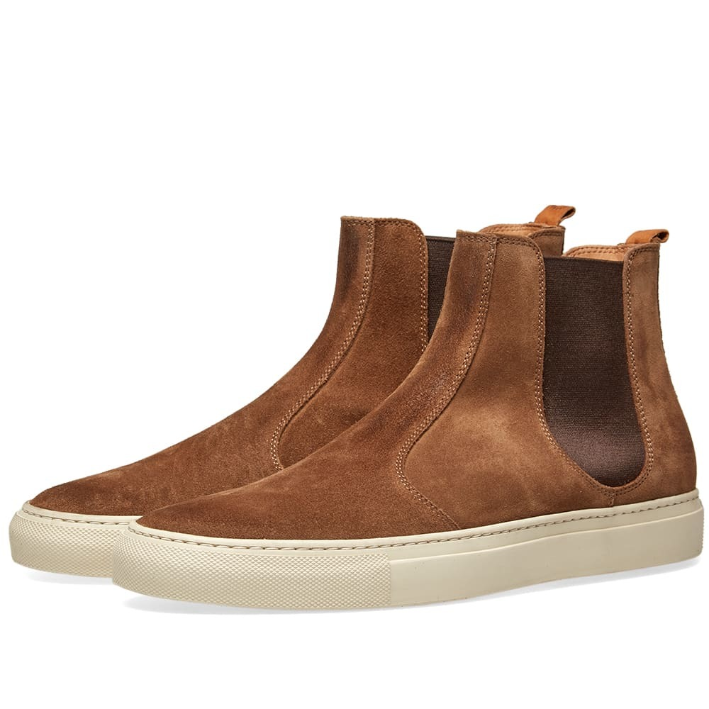 Photo: Buttero Tanino Suede Chelsea Boot Brown