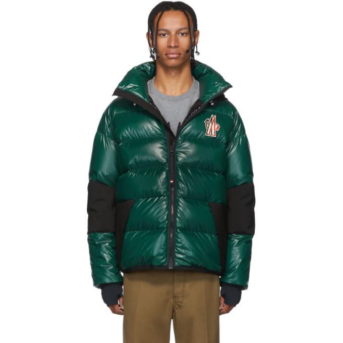 Photo: Moncler Grenoble Green Down Gollinger Puffer Jacket