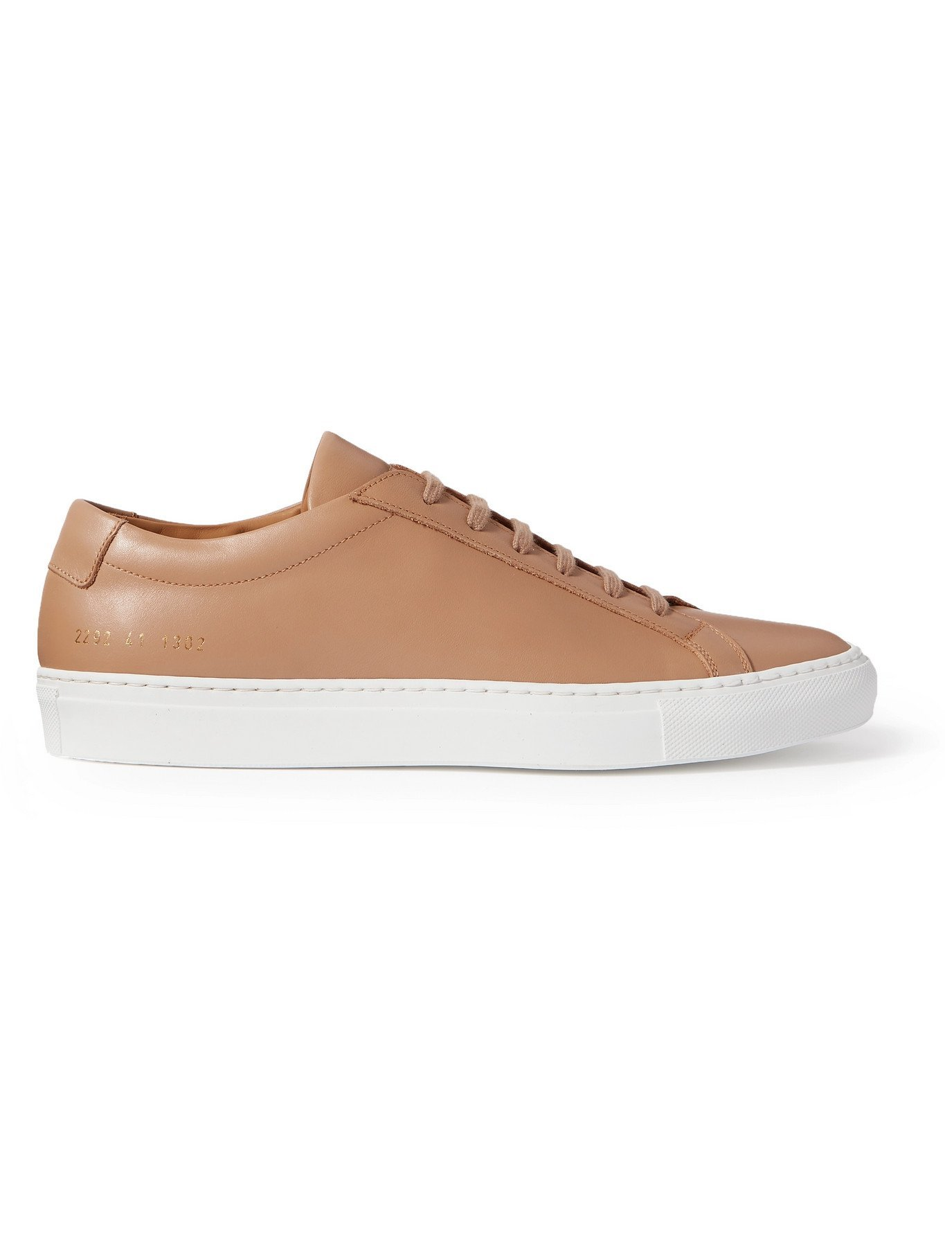 Photo: COMMON PROJECTS - Original Achilles Leather Sneakers - Brown
