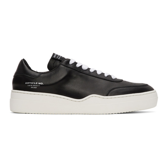 Photo: Article No. SSENSE Exclusive Black and Off-White 0517-04-06 Sneakers