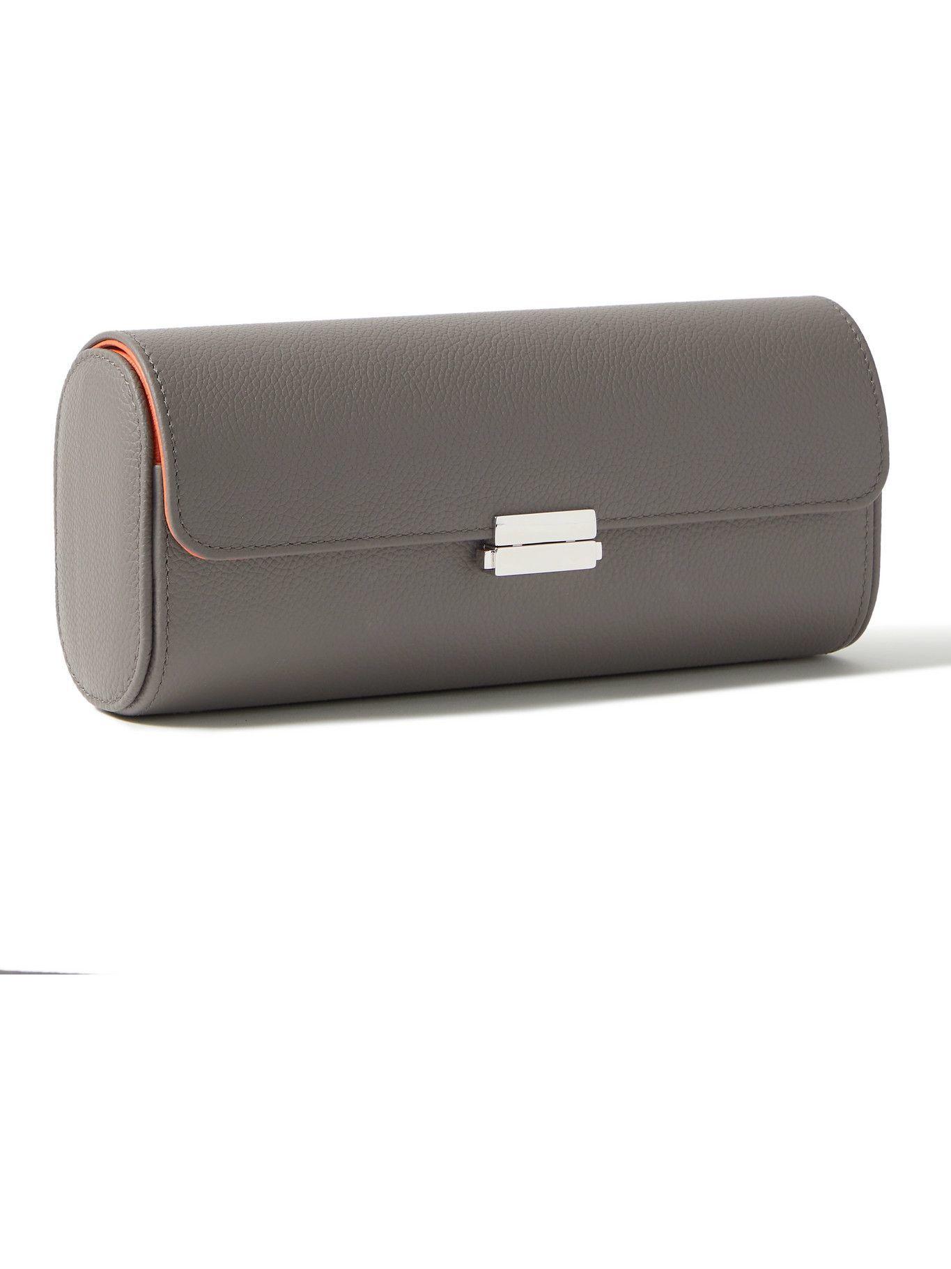 Photo: Scatola del Tempo - Full-Grain Leather Watch Roll