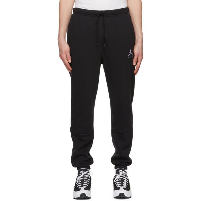 Photo: Nike Jordan Black Jordan Jumpman Air Lounge Pants
