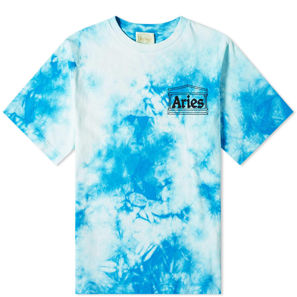 Photo: Aries Tie Dye Temple Tee