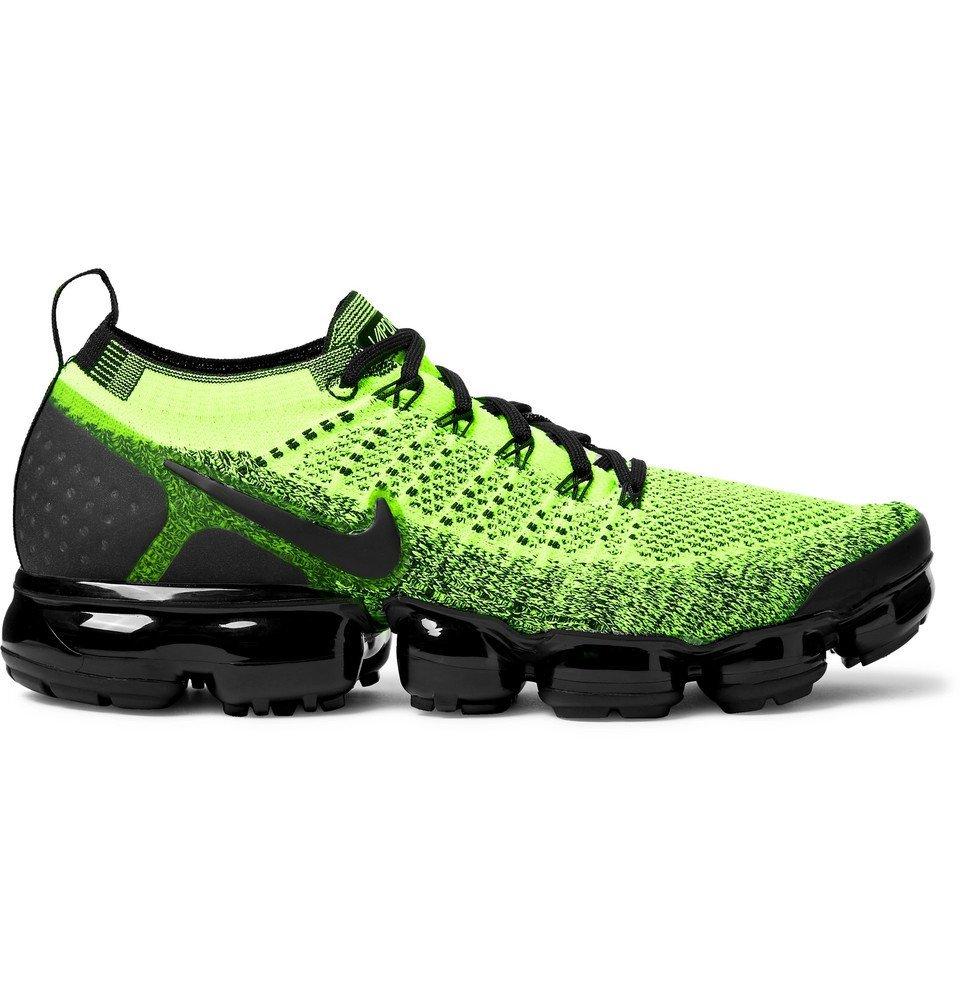Nike Running - Air VaporMax 2.0 Flyknit Running Sneakers - Yellow