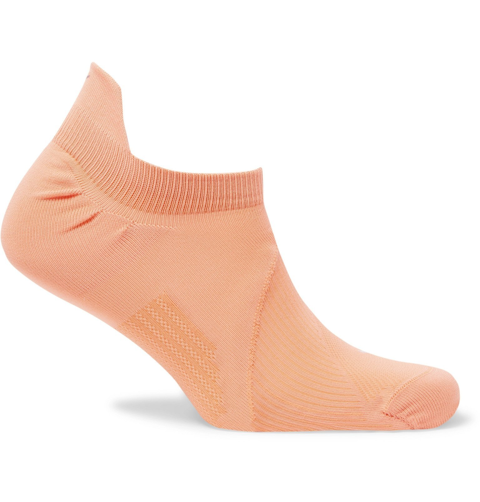 Photo: Nike Running - Elite Lightweight Dri-FIT No-Show Running Socks - Orange