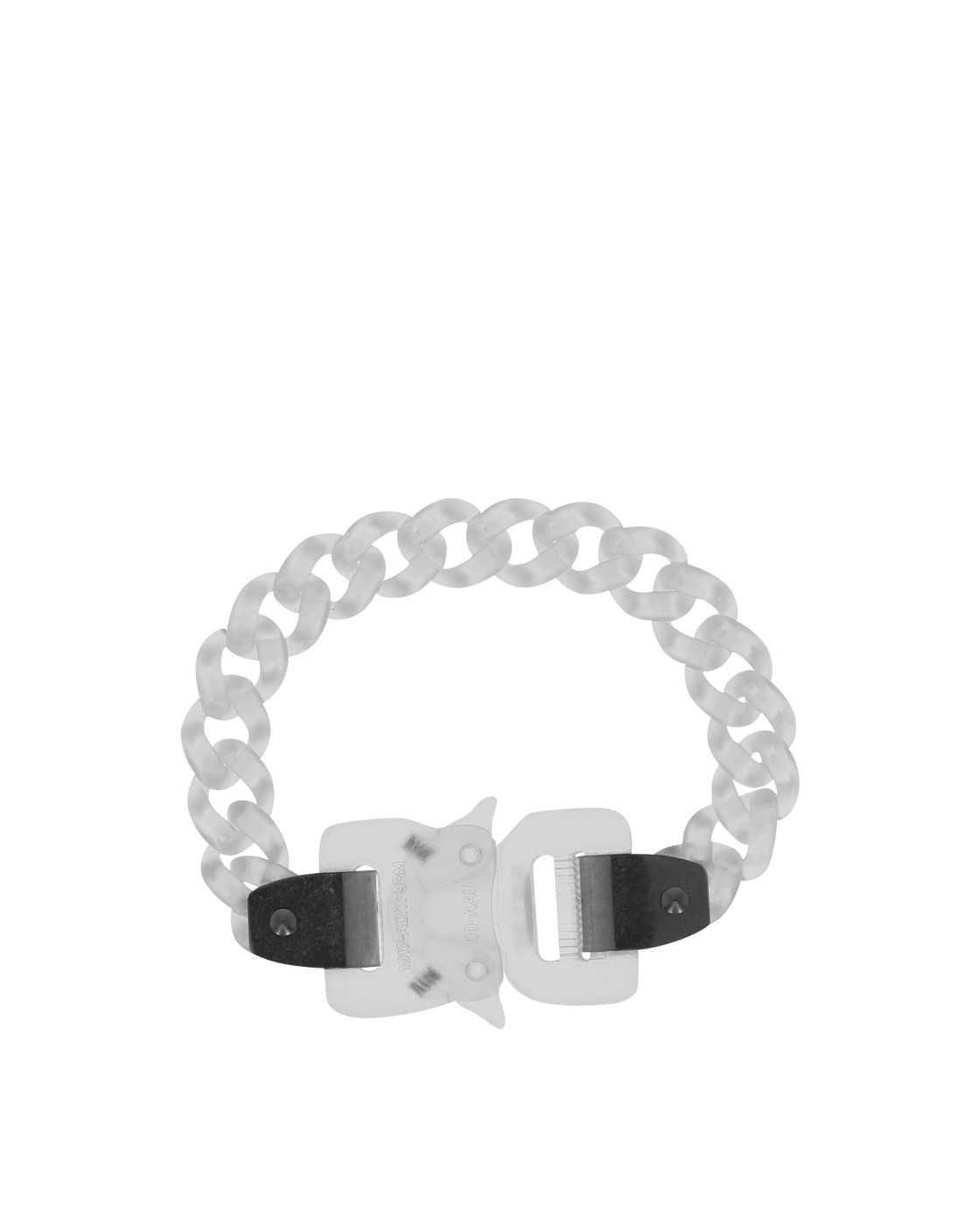 Photo: 1017 Alyx 9sm Transparent Chain Bracelet Trasparent